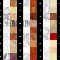 fft of wood samples