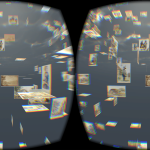 Floating through an image galaxy – in VR